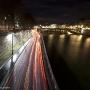 The river Seine at night, Paris
