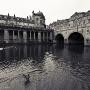 The river Avon in Bath