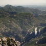 View from the top of Montserrat, Catalonia