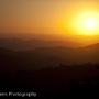 Sunset from Tibidabo, Barcelona