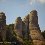 Rock formations, Montserrat