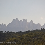Montserrat seen from Manresa