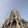 The church of Sagrada Familia, Barcelona