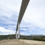 Viaduc de Millau, seen from below
