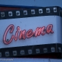 Old cinema sign, St Ives